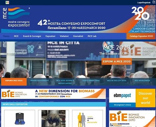 42^ MOSTRA CONVEGNO EXPOCOMFORT - 17-20 Marzo Fieramilano