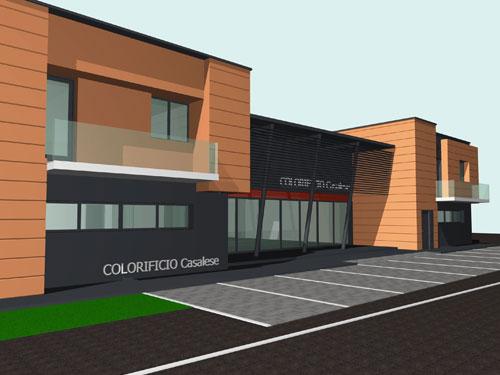 Progetto Per Un Edificio Commerciale E Uffici A Casale Di Scodosia (PD)