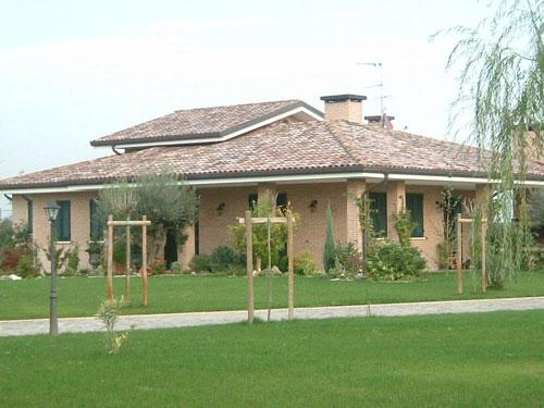 Progetti e realizzazioni studio architettura e for Progetti di case moderne a un solo piano